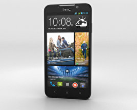 3D model of HTC Desire 516 Black