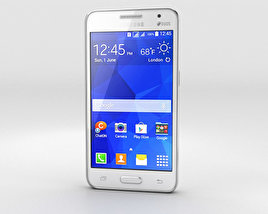 3D model of Samsung Galaxy Core II White