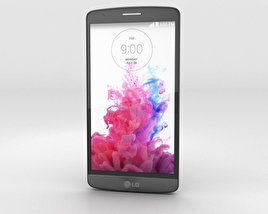 3D model of LG G3 S Metallic Black