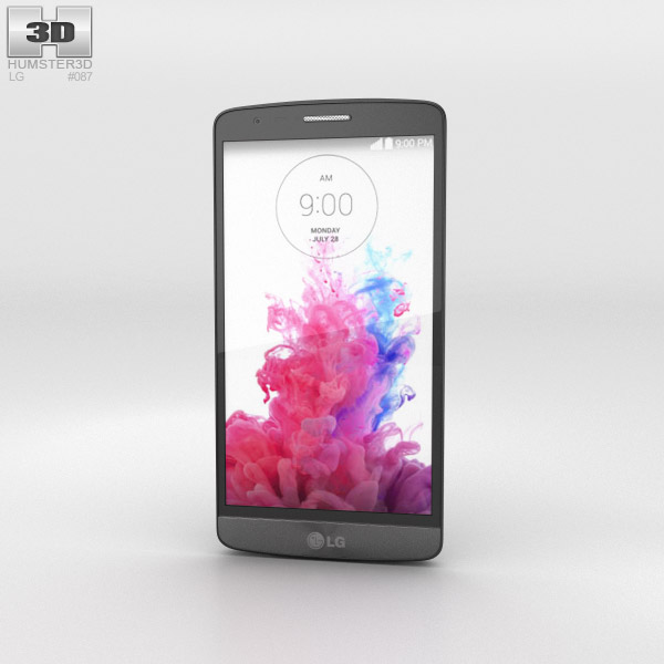 LG G3 S Metallic Black 3d model