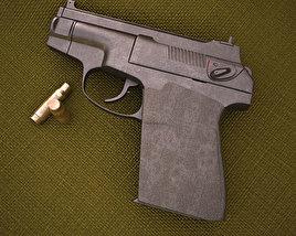 3D model of PSS Silent Pistol