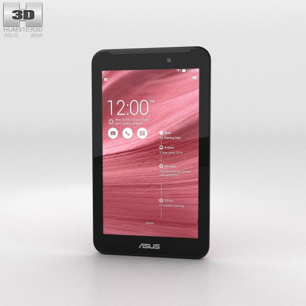 Asus Fonepad 7 (FE170CG) Red 3D model