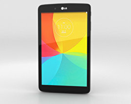 3D model of LG G Pad 8.0 Black
