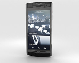 3D model of Vertu Signature Touch Jet Alligator