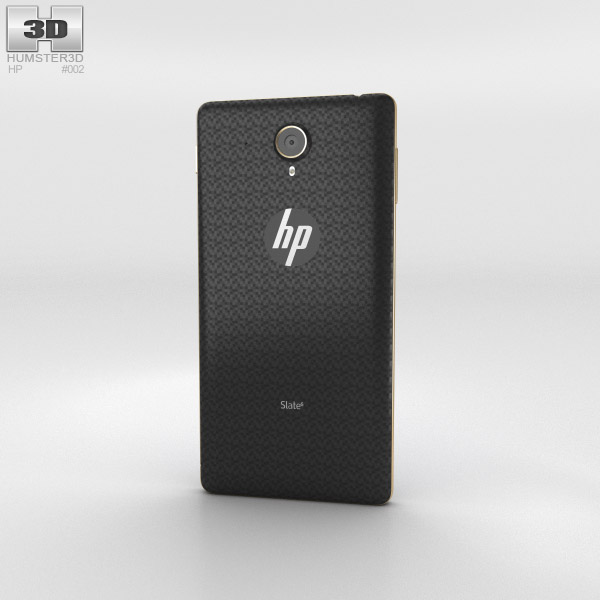HP Slate 6 VoiceTab 3d model