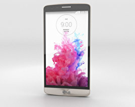 3D model of LG G3 S Shine Gold