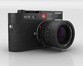 3D model of Leica M9 Black