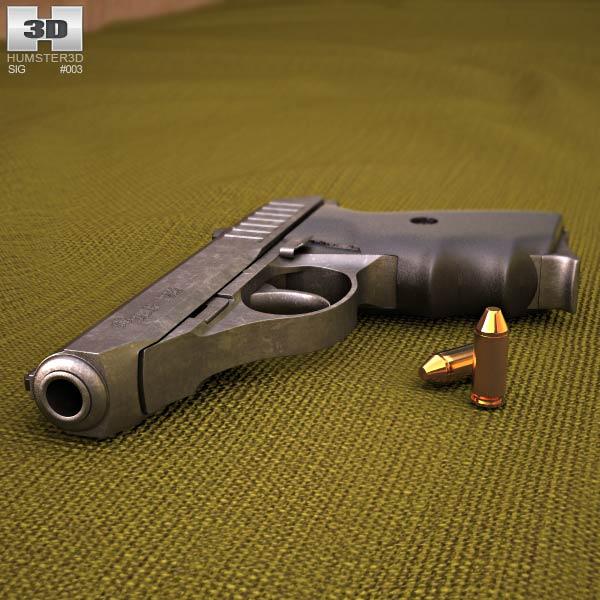 SIG Sauer P232 3d model