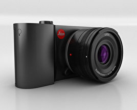 3D model of Leica T Black