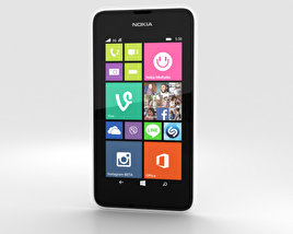 3D model of Nokia Lumia 530 White
