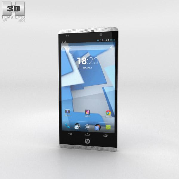 HP Slate 6 VoiceTab Marine Blue 3D model