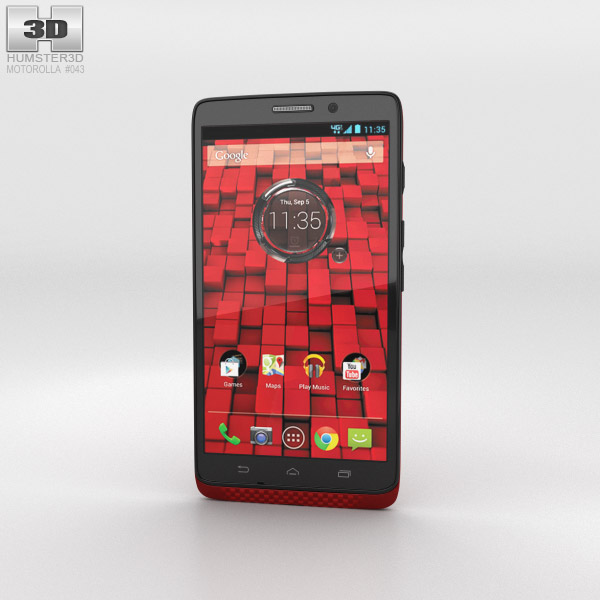 Motorola Droid Ultra Red 3D model