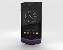 3D model of Vertu Constellation 2013 Pure Plum Alligator