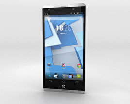 3D model of HP Slate 6 VoiceTab Gray