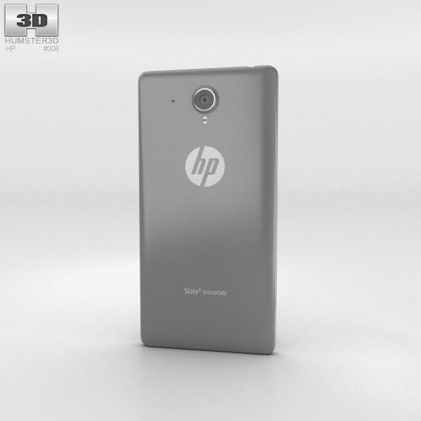 HP Slate 6 VoiceTab Gray 3d model