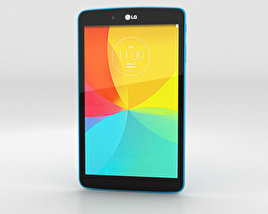 3D model of LG G Pad 8.0 Luminous Blue