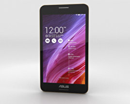 3D model of Asus Fonepad 7 (FE375CG) Black