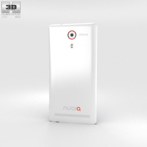 ZTE Nubia Z7 White 3d model