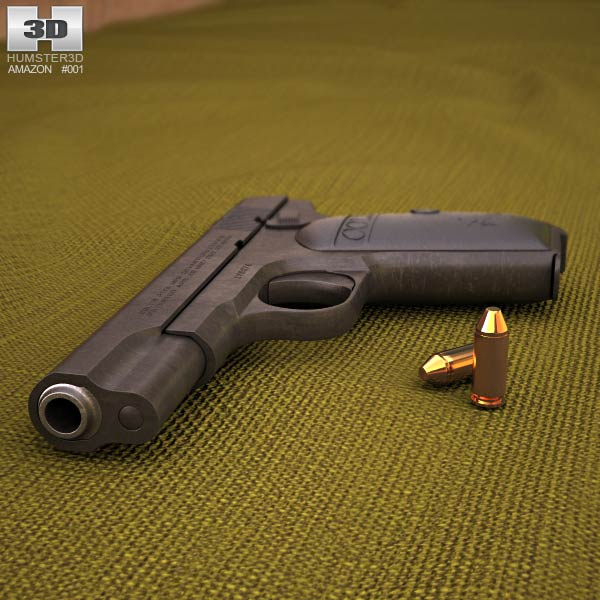 Colt Model 1903 Pocket Hammerless 3d model