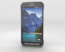 3D model of Samsung Galaxy S5 Active Titanium Grey