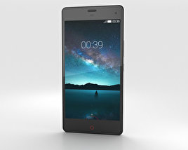3D model of ZTE Nubia Z7 Mini White