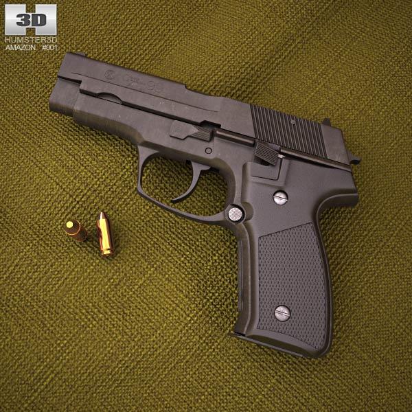 CZ 99 3D model