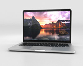 3D model of Apple MacBook Pro with Retina display 13 inch
