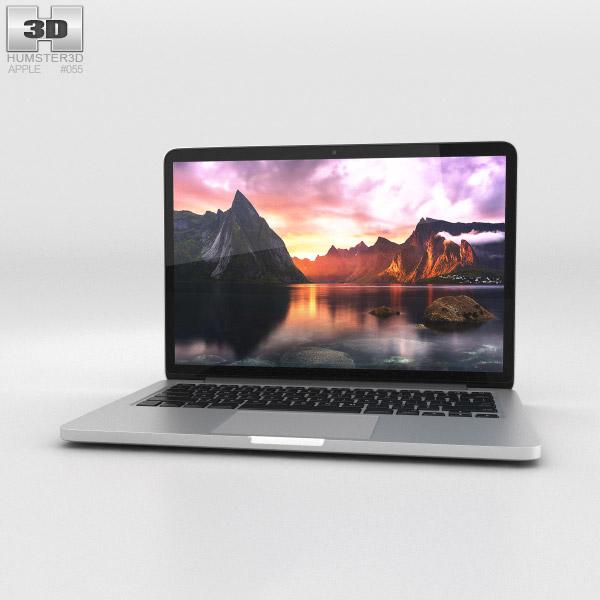 Apple MacBook Pro with Retina display 13 inch 3D model