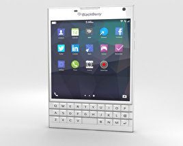 3D model of BlackBerry Passport White