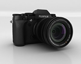 3D model of Fujifilm X-T1 Black