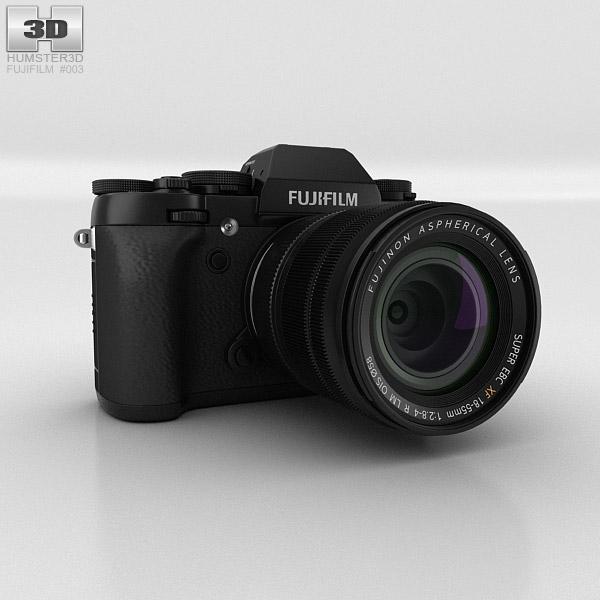 Fujifilm X-T1 Black 3D model