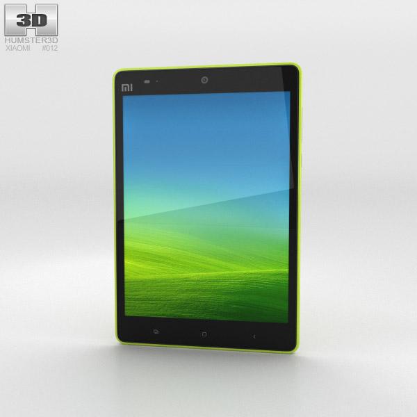 3D model of Xiaomi Mi Pad 7.9 inch Green