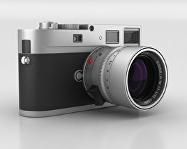 3D model of Leica M Monochrom Silver