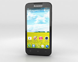 3D model of Lenovo A516 Black