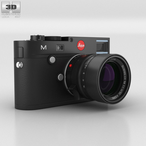 Leica M (Type 240) Black 3D model