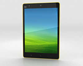 3D model of Xiaomi Mi Pad 7.9 inch Yellow