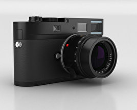 3D model of Leica M Monochrom Black