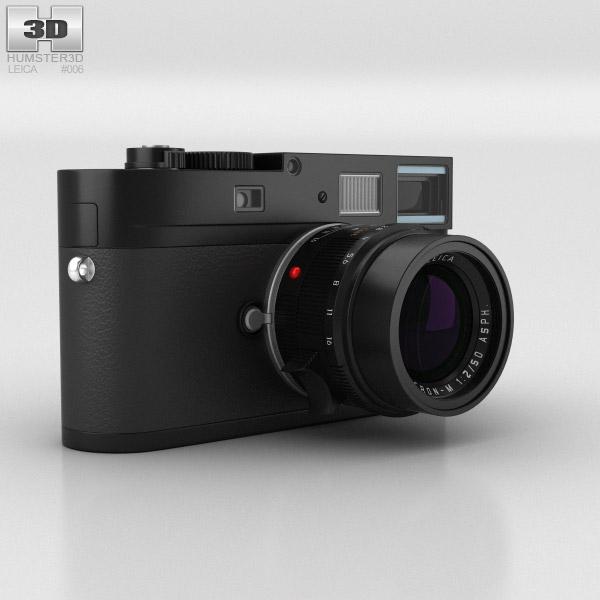 Leica M Monochrom Black 3D model