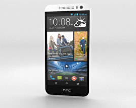 3D model of HTC Desire 616 White