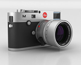 3D model of Leica M (Type 240) Silver