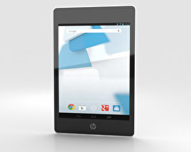 3D model of HP Slate 8 Pro White