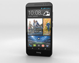 3D model of HTC Desire 616 Black