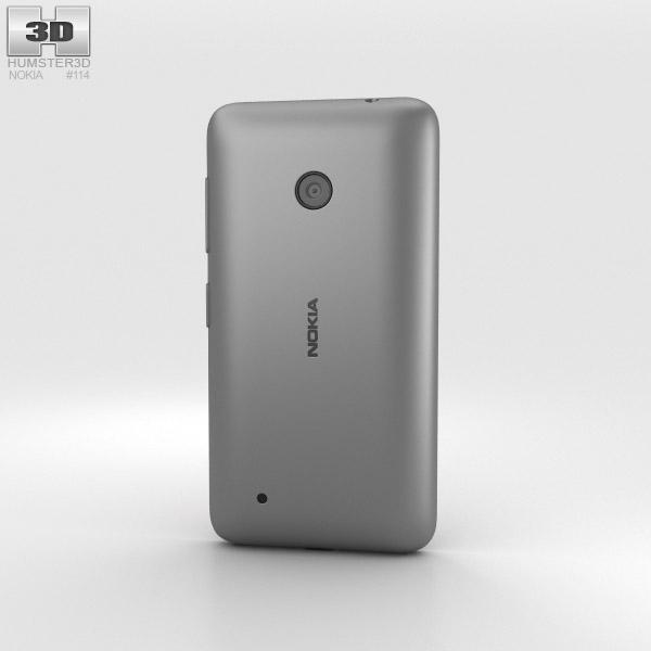 Nokia Lumia 530 Dark Grey 3d model
