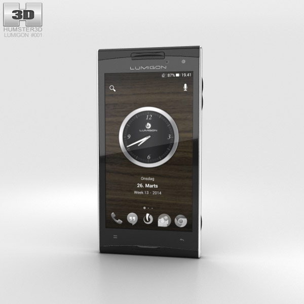 3D model of Lumigon T2 HD Black