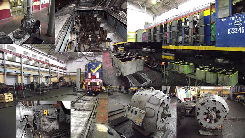 Making-of Under repair