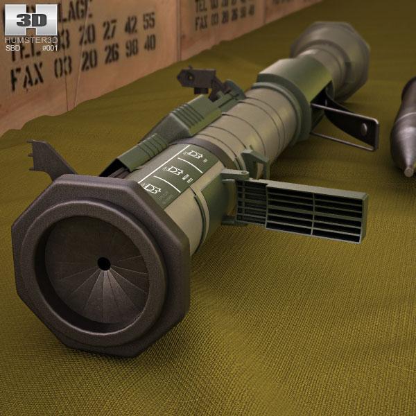 M136 AT4 3d model