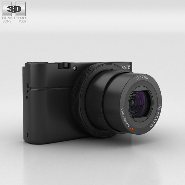 3D model of Sony Cyber-shot DSC-RX100