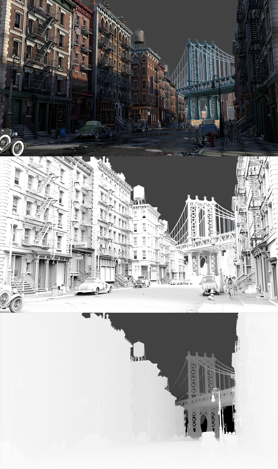 """Making-of """"New York in the 30's"""""""