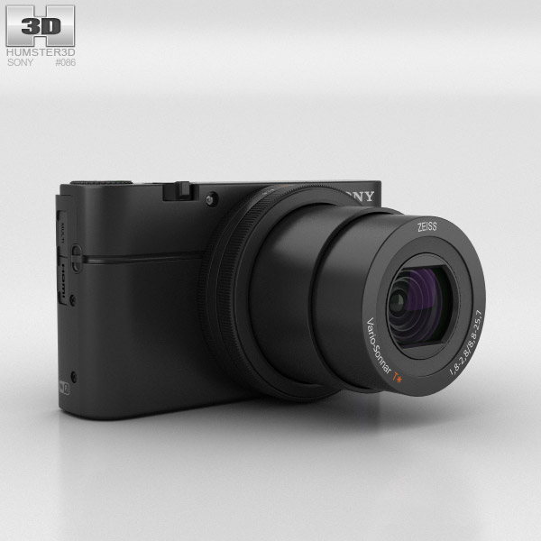 3D model of Sony Cyber-shot DSC-RX100 III