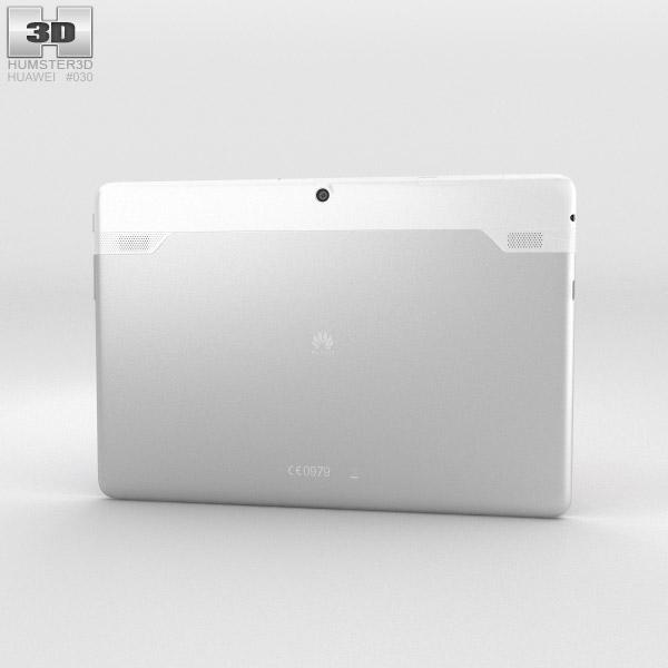 Huawei MediaPad 10 Link+ White 3d model